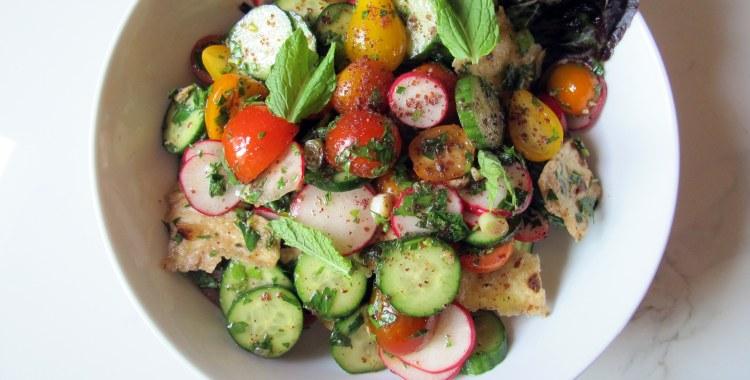 Na'ama's Fattoush Salad | And We Noshed